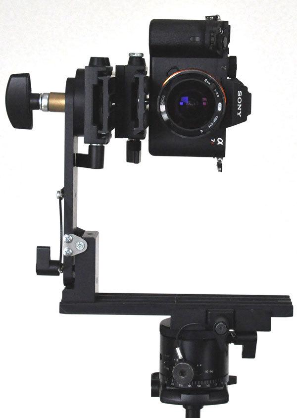 パノラマ写真撮影カメラ角度水平・垂直方式:ソニーα7RⅡ