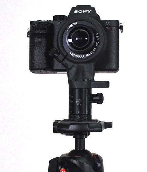 パノラマ写真撮影カメラ角度水平方式:ソニーα7RⅡ